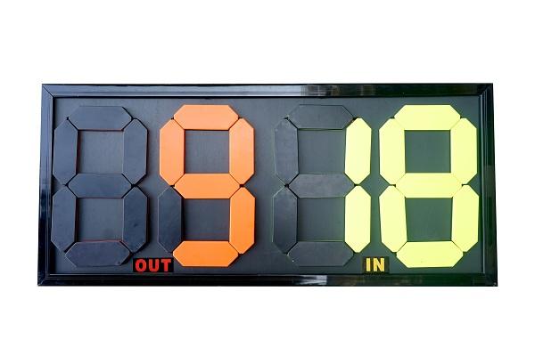 Bảng thay người bóng đá SA-107