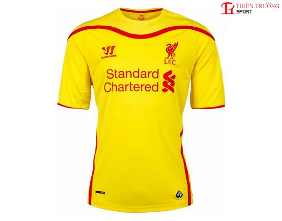Quần áo Liverpool sân khách 2014 - 2015