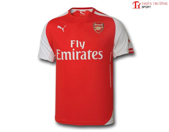 Quần áo Arsenal sân nhà 2014 - 2015