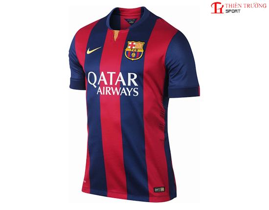 Quần áo Barcelona sân nhà mùa giải 2014 - 2015