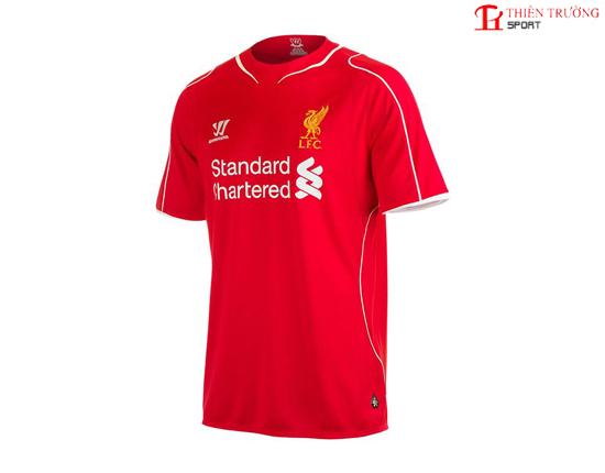 Quần áo bóng đá Liverpool sân nhà 2014