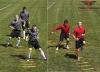 Thang dây luyện tập bóng đá