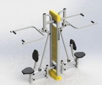 Máy tập kéo tay Vifa Sport VIFA-712112