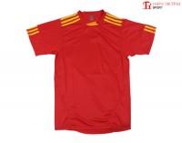 Quần áo thể thao 0490 màu đỏ
