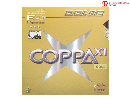 Mặt vợt bóng bàn Coppa X1 (Gold)
